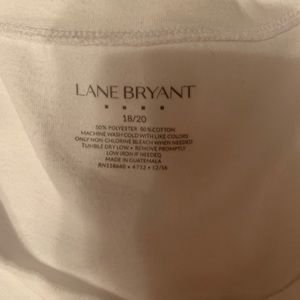 Lane Bryant white shirt